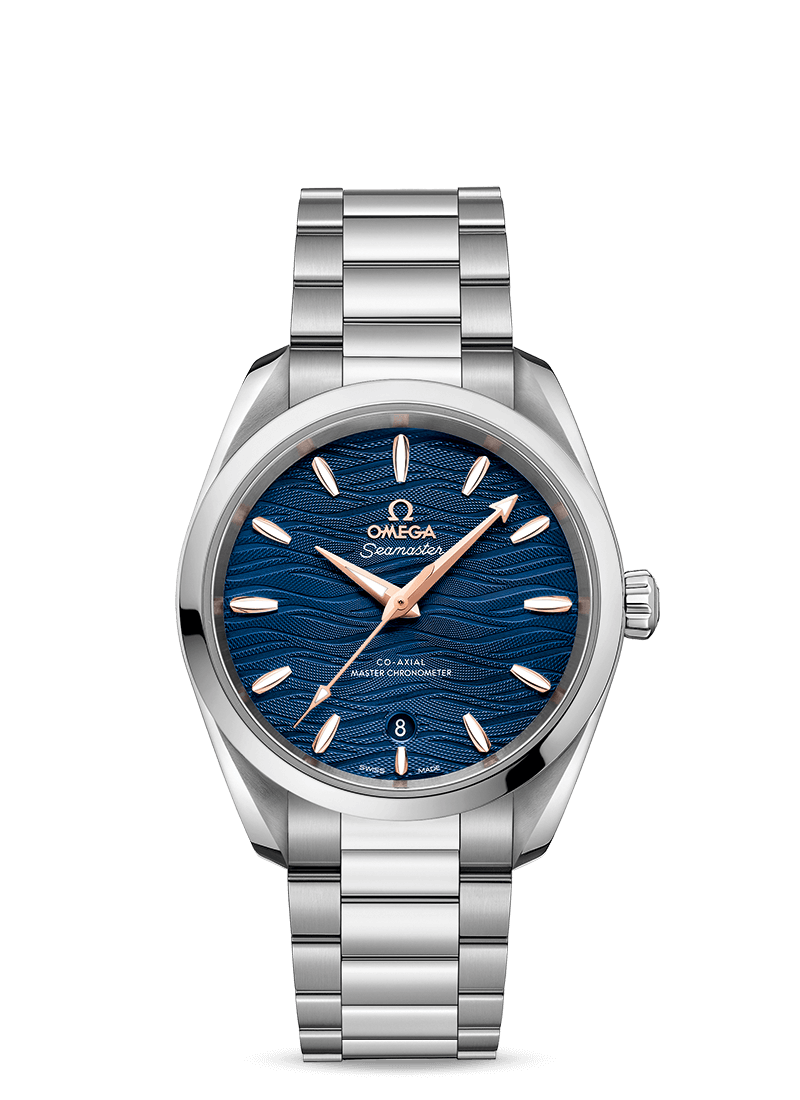 nuovo concetto 82b38 700b1 Seamaster Aqua Terra 150M Omega Co‑Axial Master Chronometer 38 Mm Donna