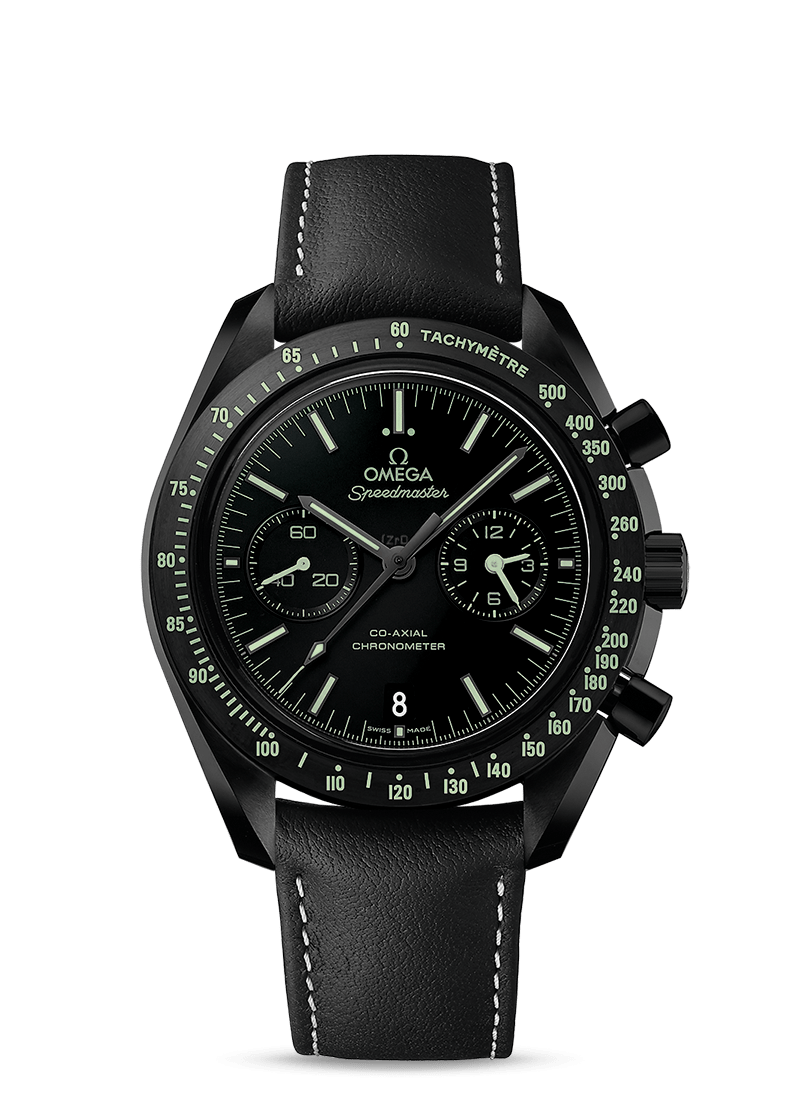 Speedmaster Moonwatch Omega Co‑Axial Chronograph 44,25 Mm Pitch Black